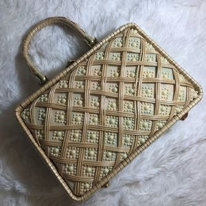 Vintage Magid basket purse made in Honduras